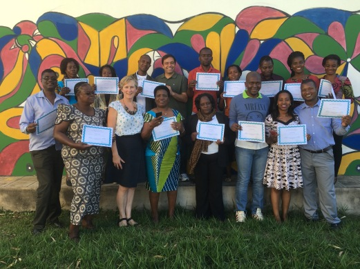 Technology for Creative Teaching 2016Workshop, Mozambique